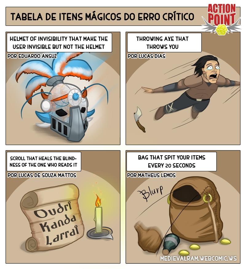 Critical Error Magic Item Table #2