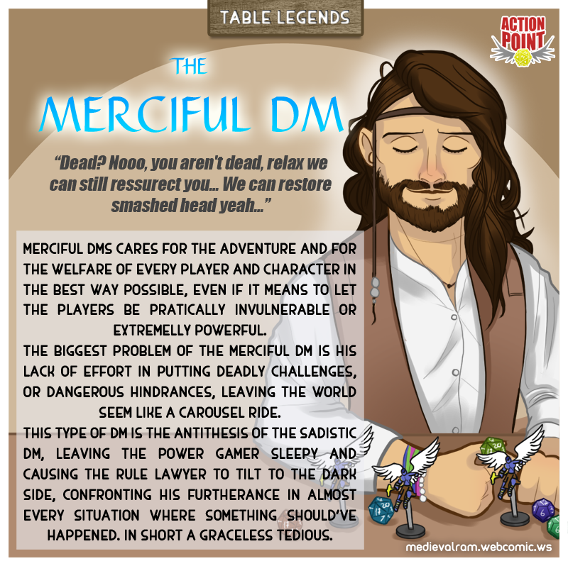 Table Legends #4 - Merciful DM