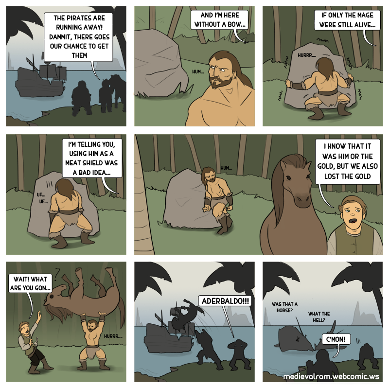 Barbarian will be barbarians