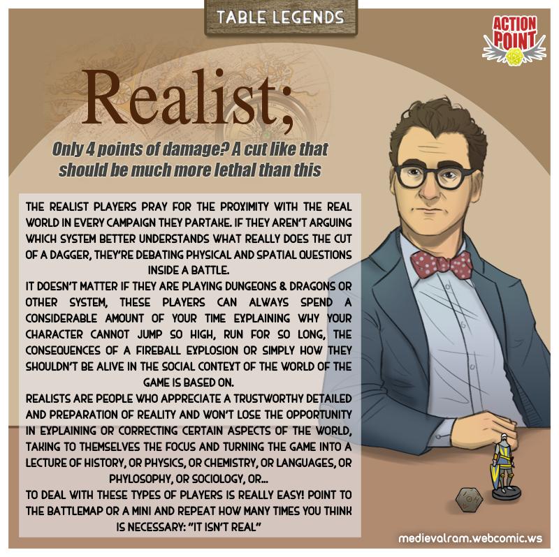 Table Legends #13 - Realist