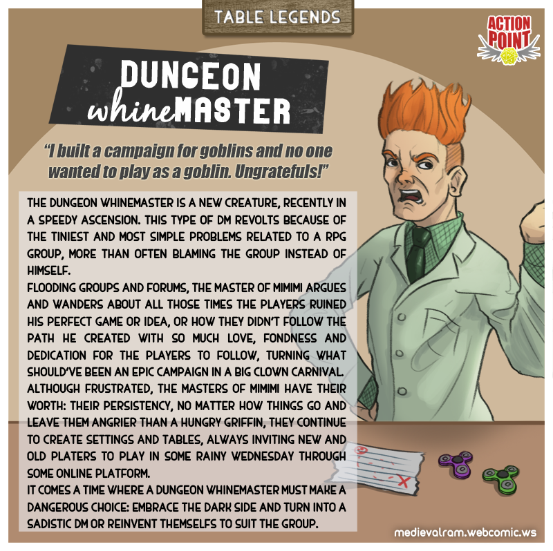 Table Legends #14 - Dungeon Whinemaster