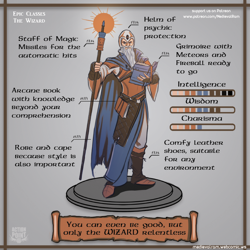 Epic Classes: The Wizard
