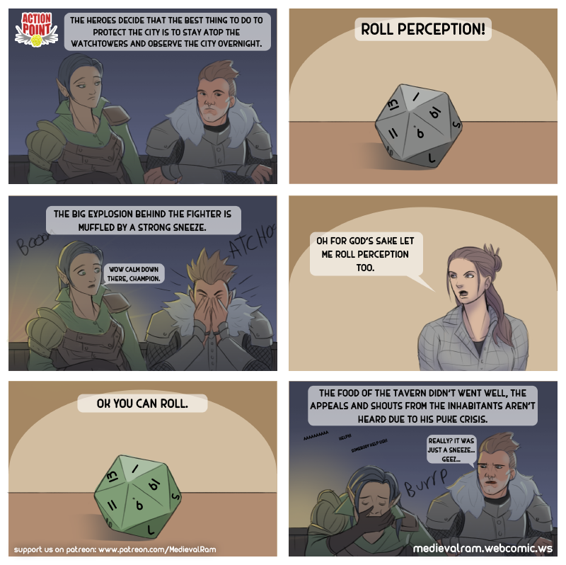 Roll Perception!